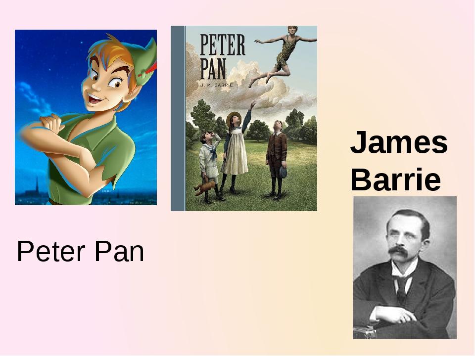 James Barrie Peter Pan