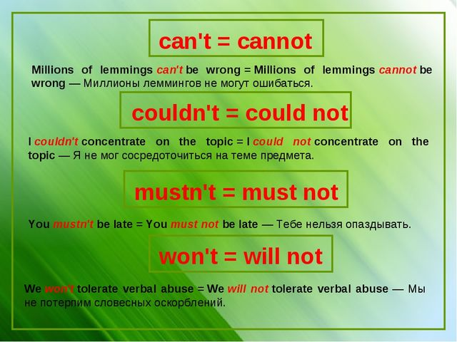 Millions of lemmingscan'tbe wrong=Millions of lemmingscannotbe wrong—...
