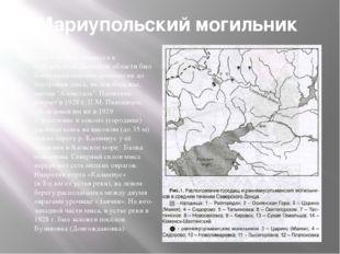 Мариупольский могильник Мыс в устье Кальмиуса в г. Мариуполь Донецкой области