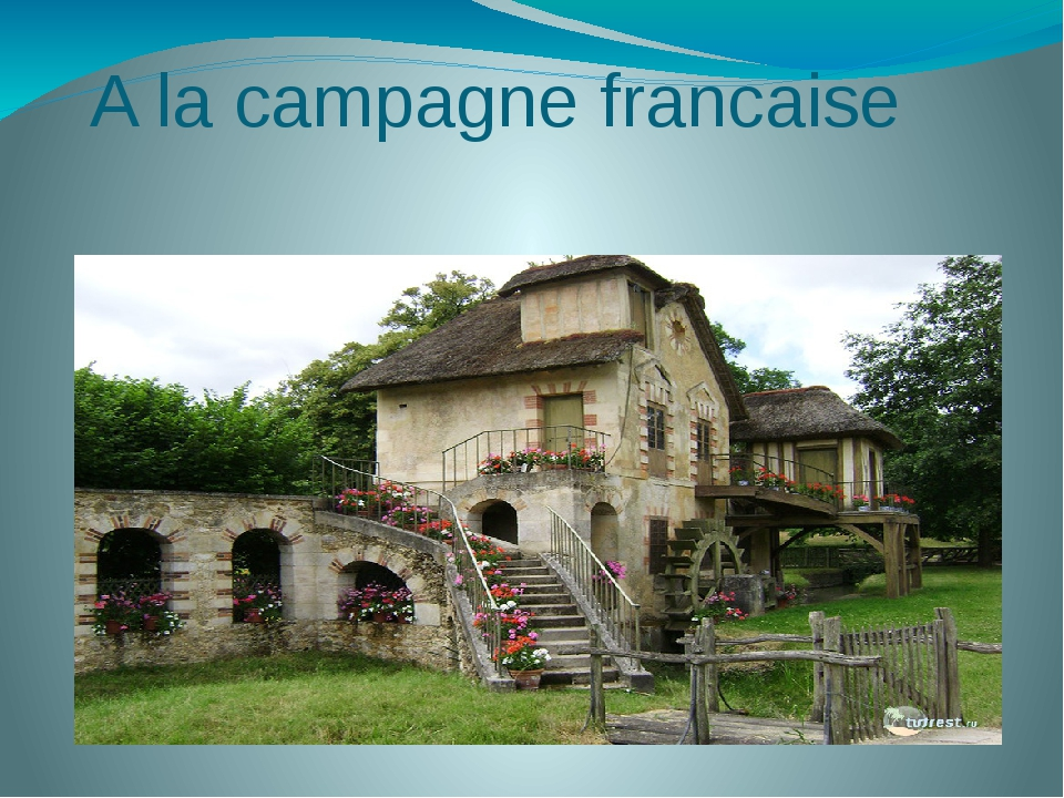 A la campagne francaise