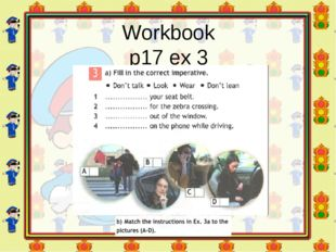 Workbook p17 ex 3