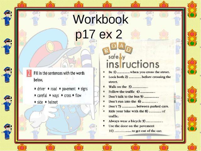 Workbook p17 ex 2