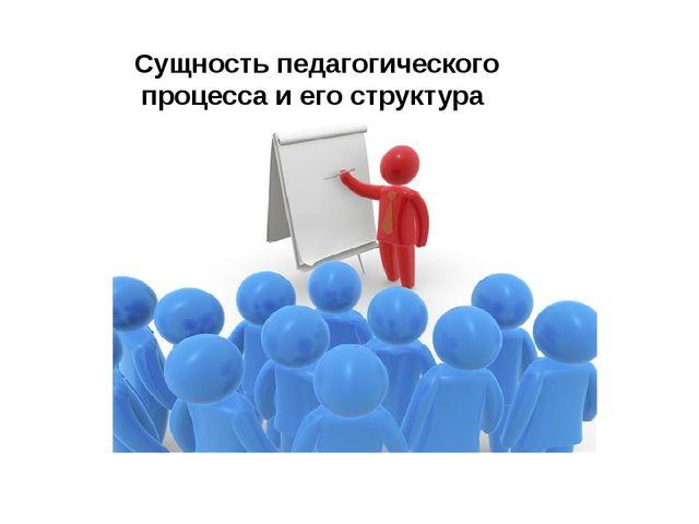 Сущность педагогического процесса и его структура