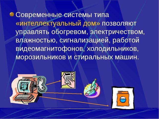 Современные системы типа «интеллектуальный дом» позволяют управлять обогревом...