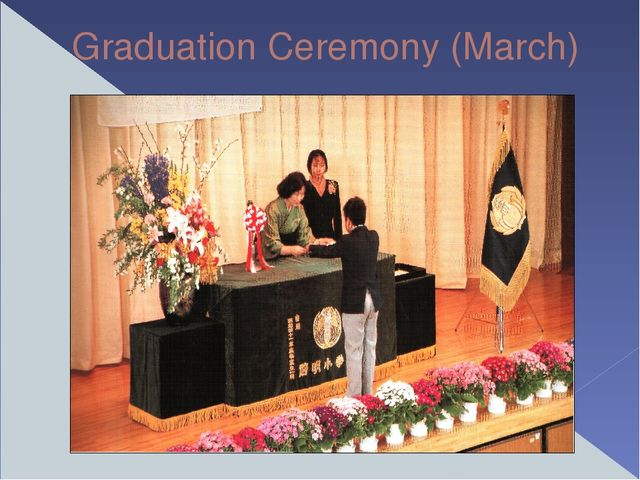 Graduation Ceremony (March)