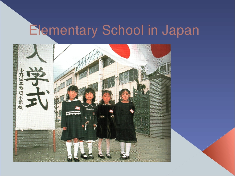 Elementary School in Japan
