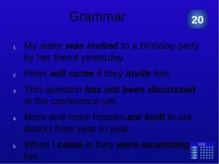 Grammar He asked me where I had been. She asked me to close my eyes and open