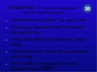 Grammar We have a responsibility towards future generations. The public feel