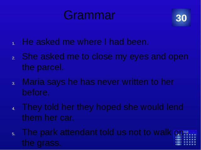 """Grammar: """"Make correct sentences from the words given below."""" presents – his..."""