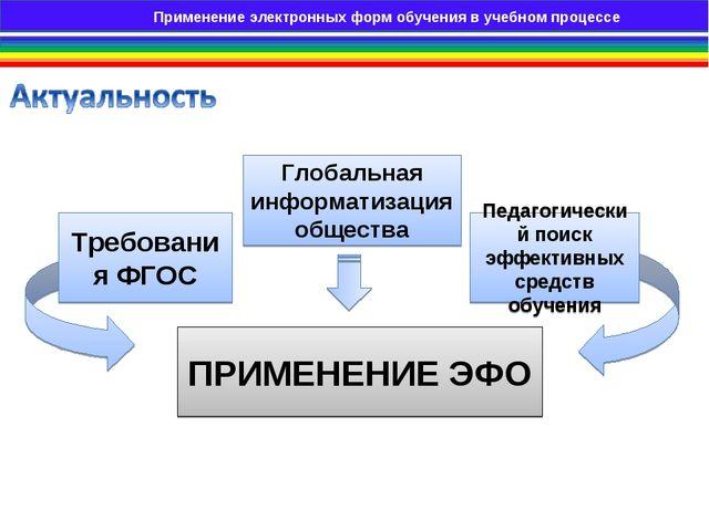 Применение электронных образовательных ресурсов на занятиях теоретического об...