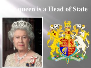 The queen is a Head of State