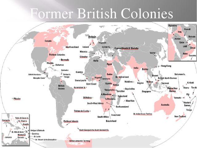 Former British Colonies