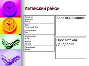 Катайский район
