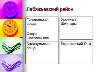 Лебяжьевский район