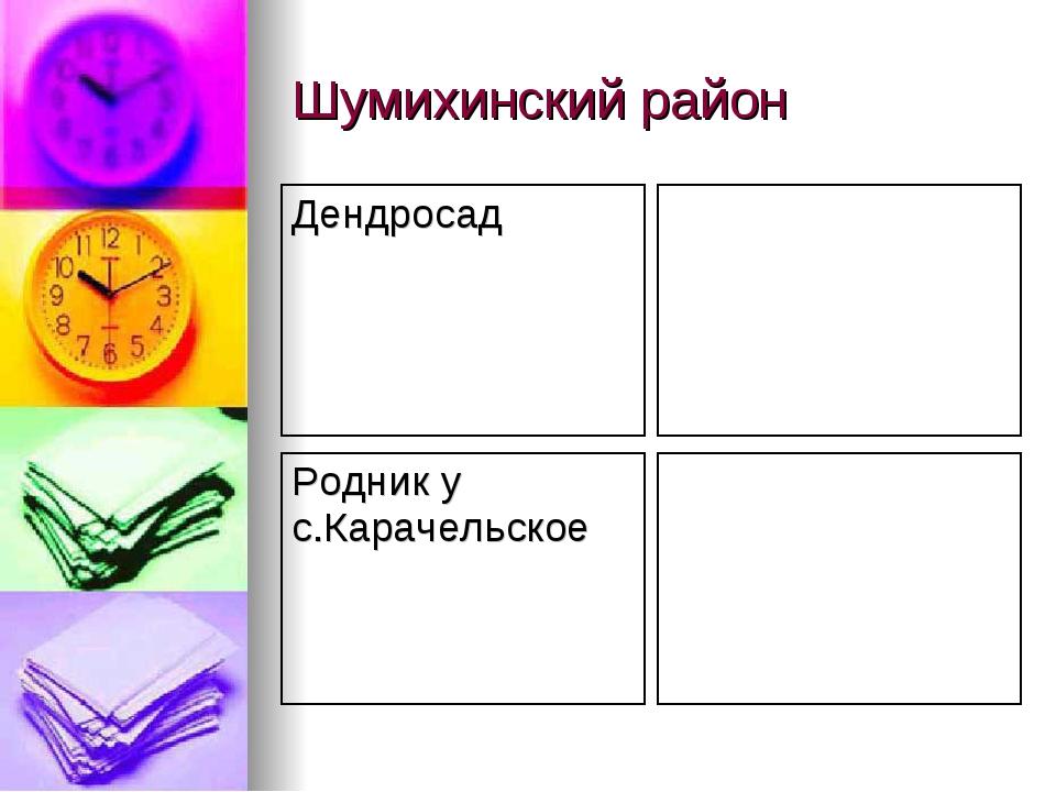 Шумихинский район