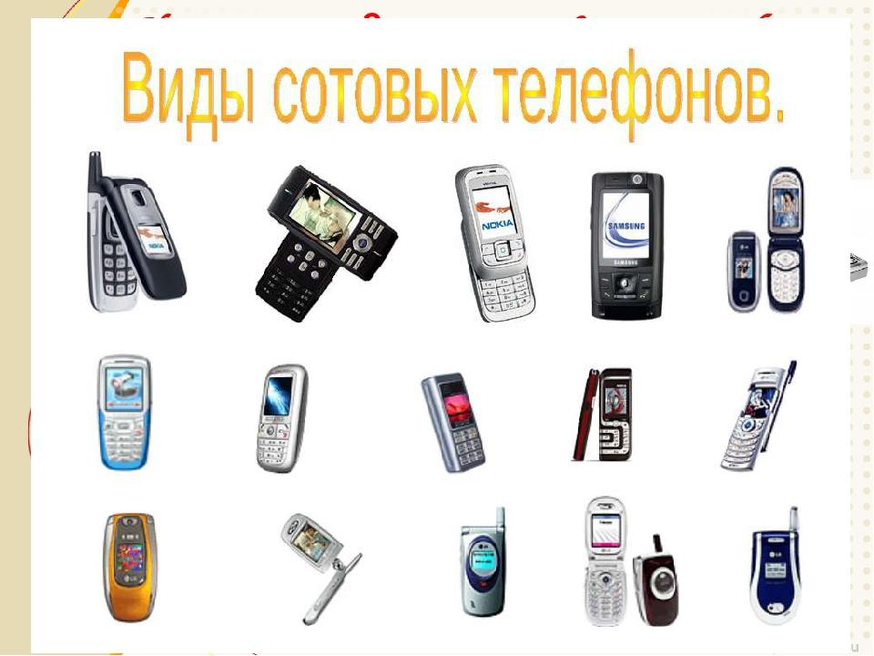 История создания сотового телефона Камерофон Смартфон Бизнес-телефон Имиджевый