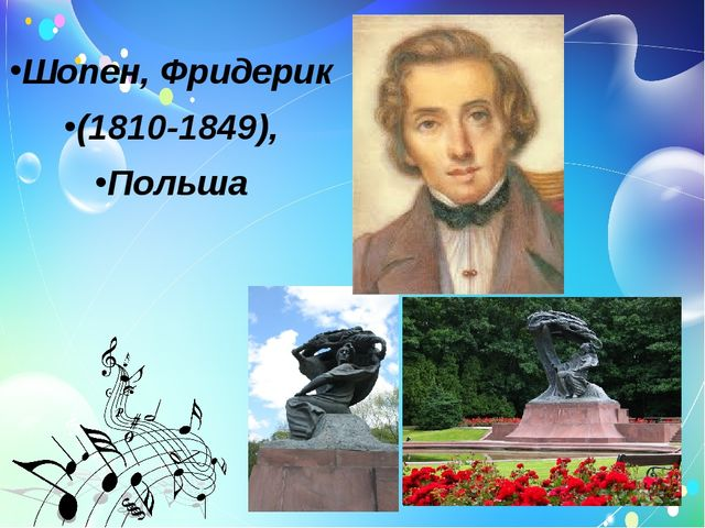 Шопен, Фридерик (1810-1849), Польша