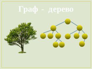 Граф - дерево