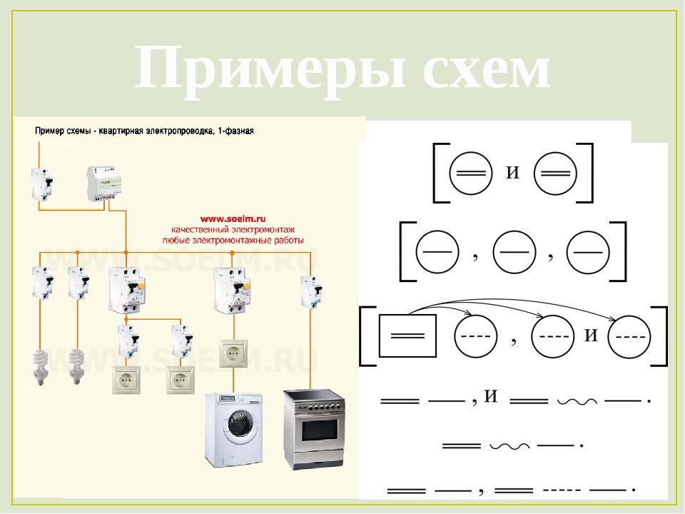 Примеры схем