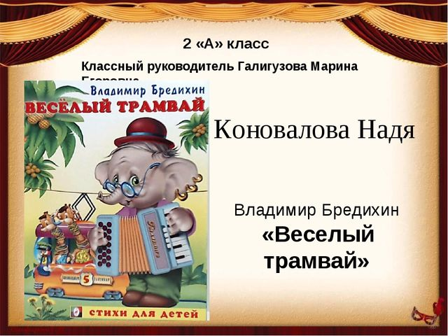 2 «А» класс Классный руководитель Галигузова Марина Егоровна Коновалова Надя...