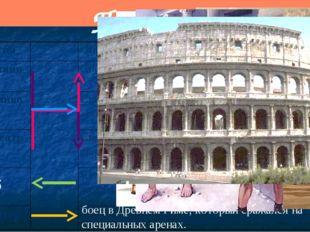 Проверяем Раб боец в Древнем Риме, который сражался на специальных аренах. По