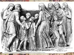 В 455 году вандалы ворвались в Рим и две недели грабили и разрушали город. С