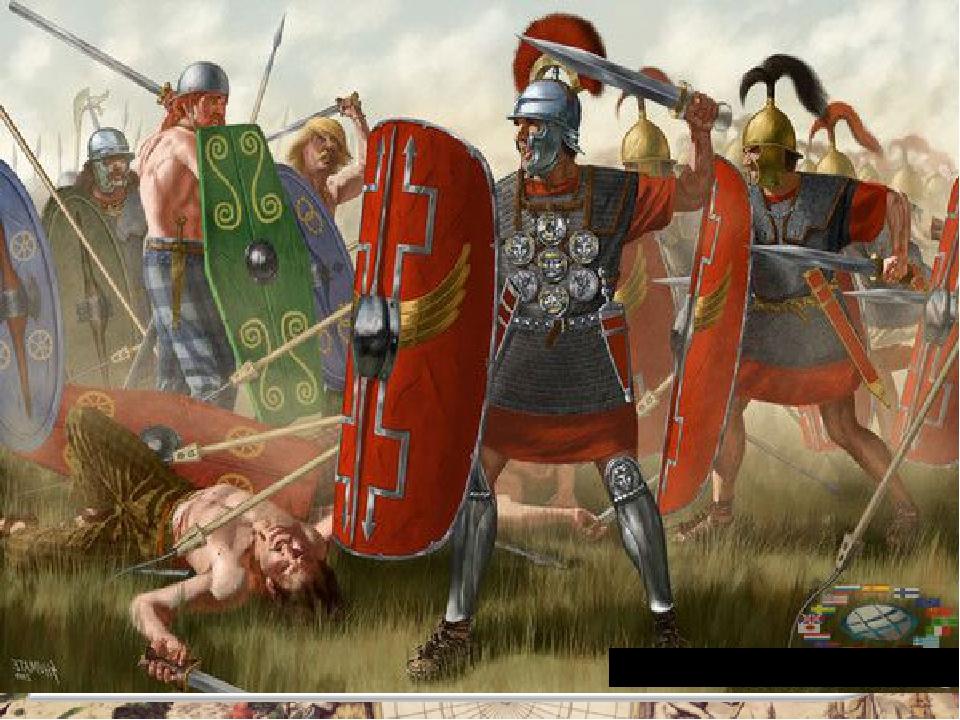 Гунны истребляли и римлян, и варваров. Тогда римляне и германцы объединились...