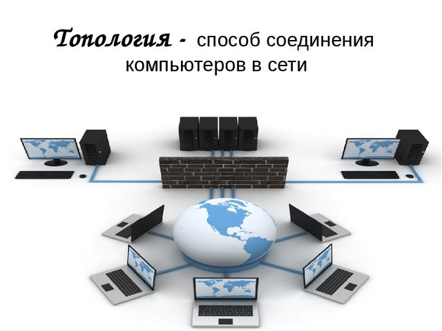 Топология - способ соединения компьютеров в сети