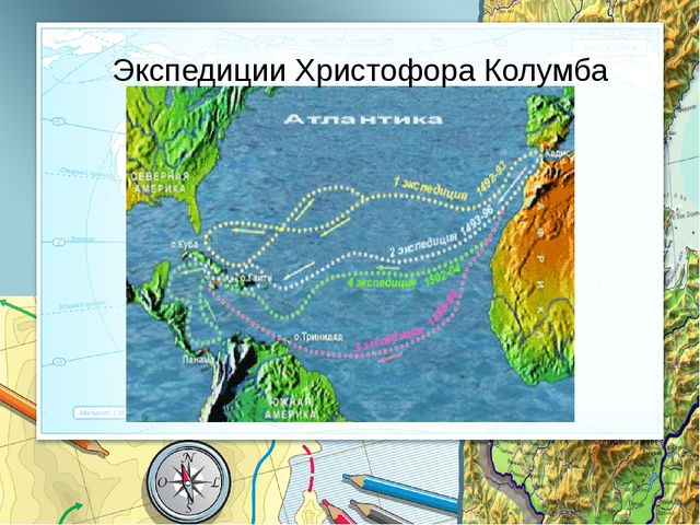 Экспедиции Христофора Колумба