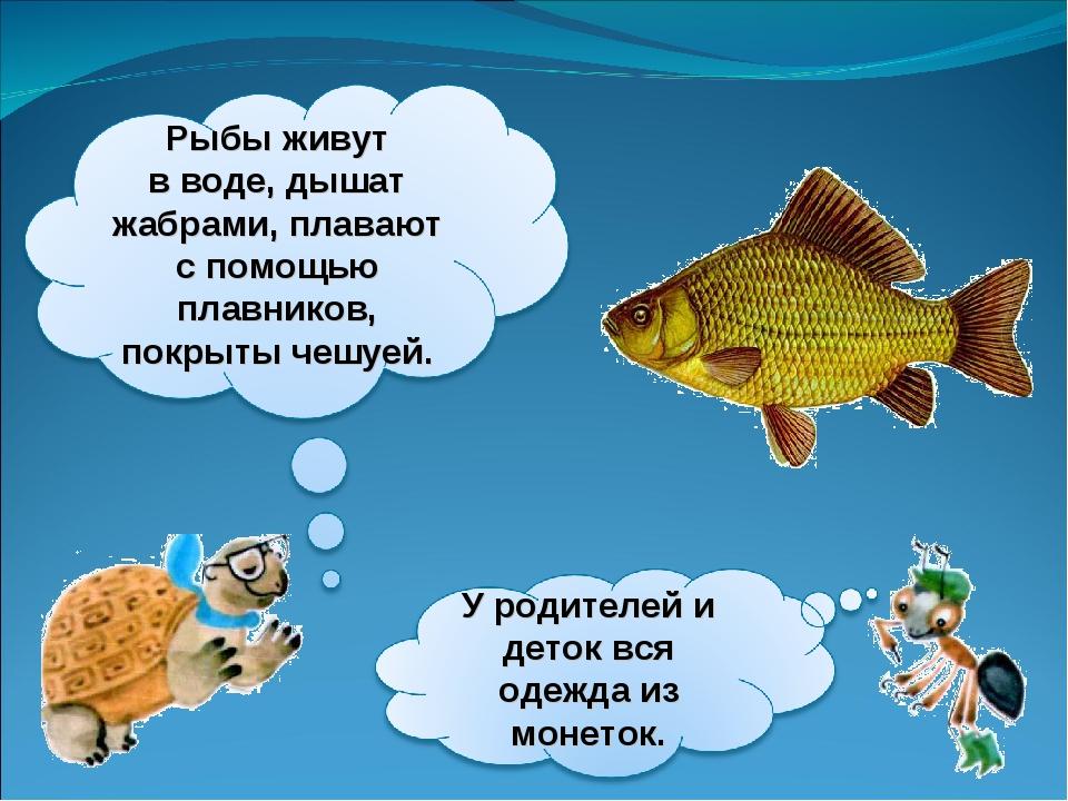 проект о рыбках в картинках каждом