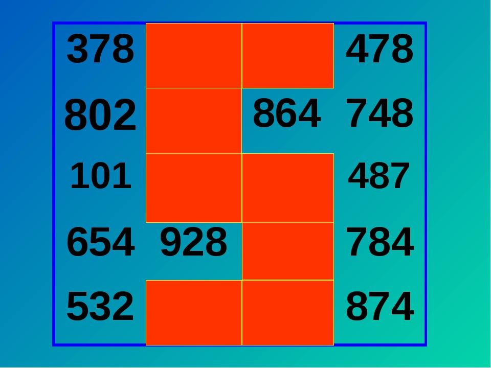 378 406 643 478 802 624 864 748 101 861 801 487 654 928 685 784 532 201 328...