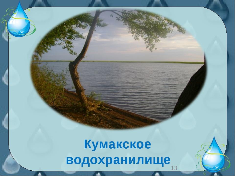 * Кумакское водохранилище