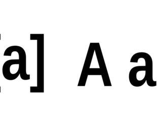 [а] А а