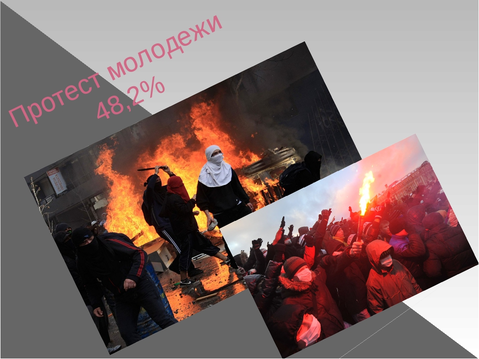 Протест молодежи 48,2%