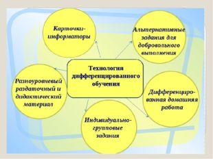 Метод дифференцированного обучения