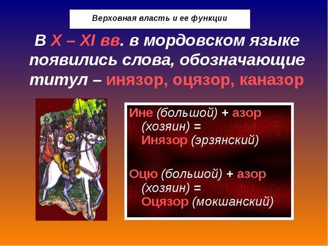 Мордовский язык 6 класс