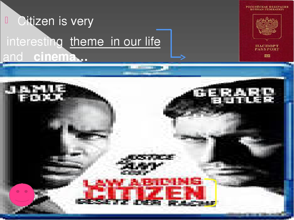 Citizen is very interesting  theme in our life and cinema…