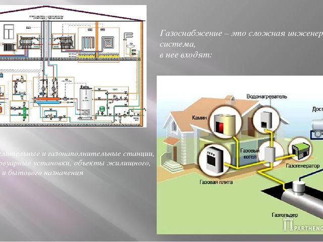 вв Газоснабжение – это сложная инженерная система, в нее входят: газораспреде...
