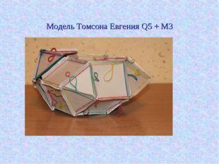 Модель Томсона Евгения Q5 + M3