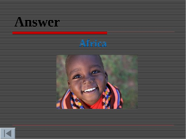 Answer Africa