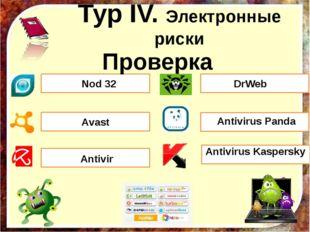Проверка Antivirus Kaspersky Nod 32 Аvast Antivirus Panda Аntivir DrWeb Тур