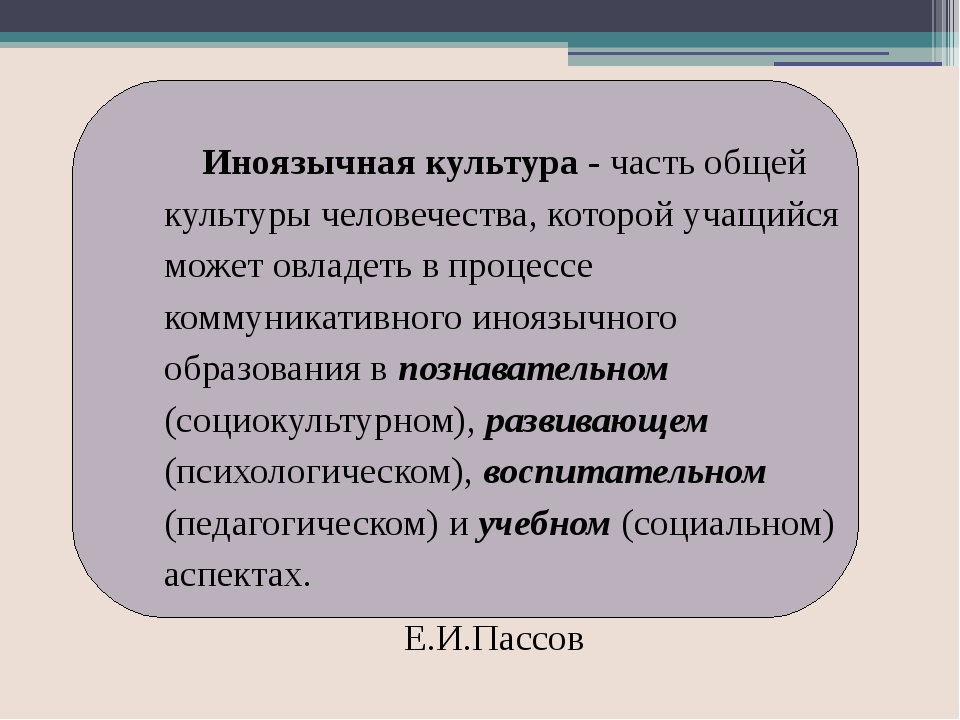 Содержание иноязычного образования Процессуальные аспекты образования Компон...