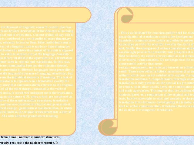 2.3 Transformation theory of translation The emergence of this theory is con...
