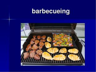 barbecueing