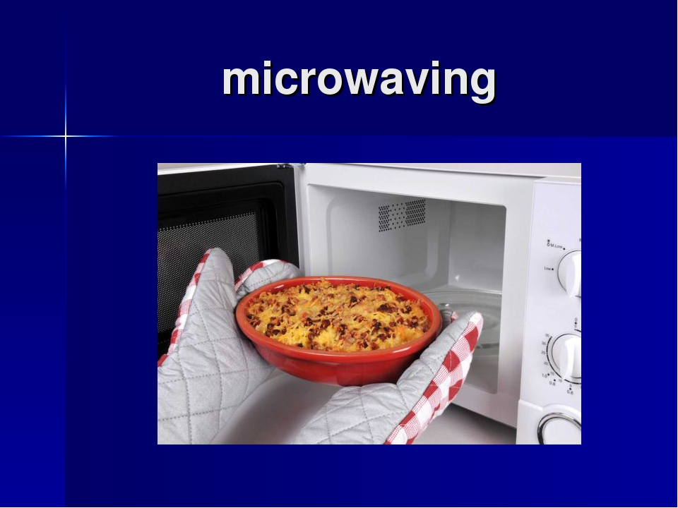microwaving