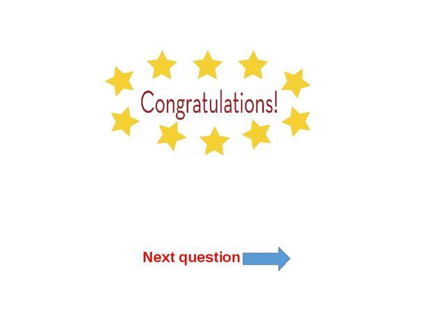 Next question