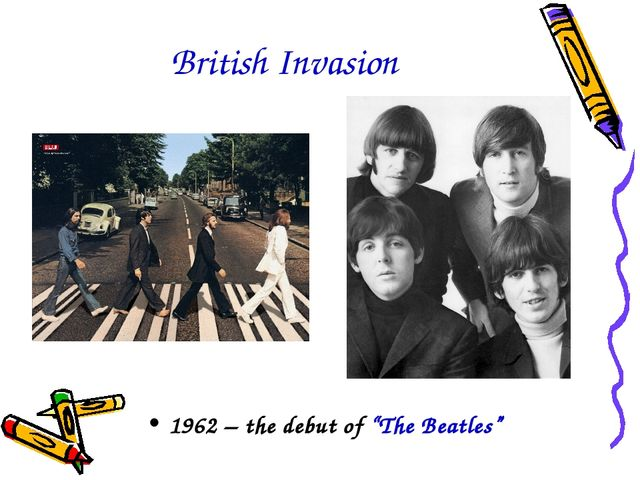"British Invasion 1962 – the debut of ""The Beatles"""