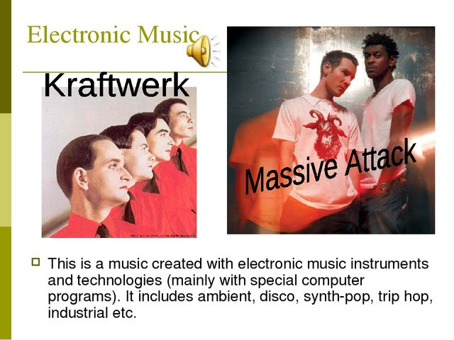 Electronic Music This is a music created with electronic music instruments an...