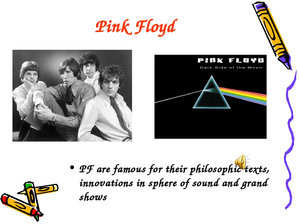 Pink Floyd PF are famous for their philosophic texts, innovations in sphere o...