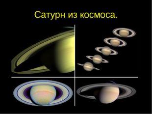 Сатурн из космоса.